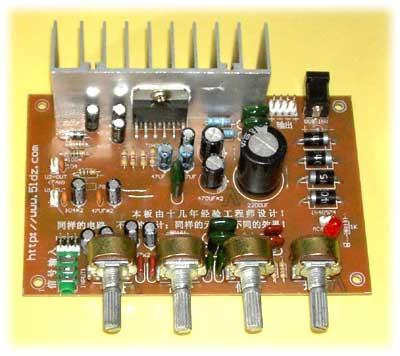 ne555最简单的功放延时电路图